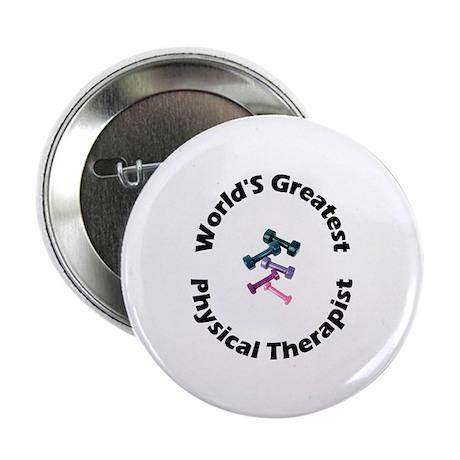 "World's Greatest PT (black) 2.25"" Button (10 pack)"