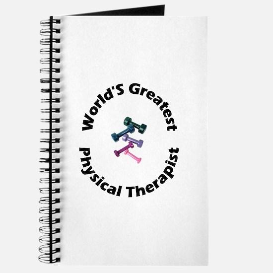 World's Greatest PT (black) Journal