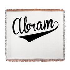 Abram, Retro, Woven Blanket