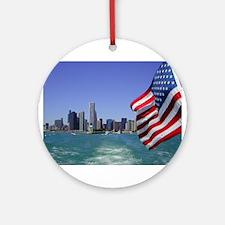 Chicagoland Ornament (Round)