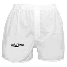 Aetna Springs, Retro, Boxer Shorts