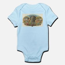 vintage Elephant picture gifts Body Suit