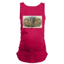 vintage Elephant picture gifts Maternity Tank Top