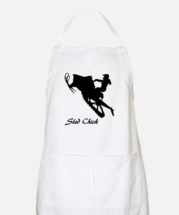 Sled Chick Apron