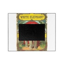vintage white elephant whimsical gifts Picture Frame