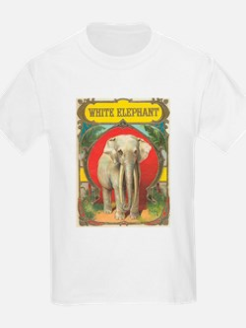 vintage white elephant whimsical gifts T-Shirt