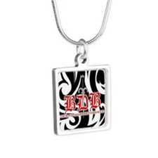 Bdb Bw Silver Square Necklace Necklaces