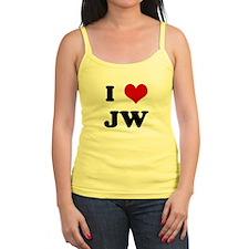 I Love JW Jr.Spaghetti Strap