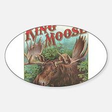 vintage Moose gifts Decal