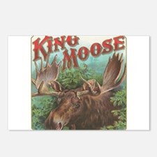 vintage Moose gifts Postcards (Package of 8)