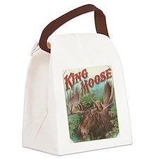 vintage Moose gifts Canvas Lunch Bag