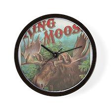 vintage Moose gifts Wall Clock