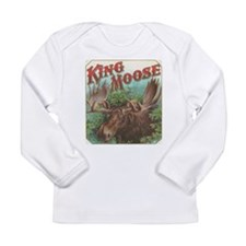 vintage Moose gifts Long Sleeve T-Shirt