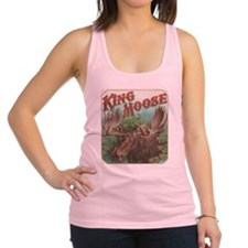 vintage Moose gifts Racerback Tank Top