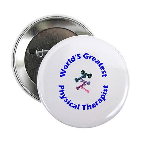 World's Greatest PT (blue) Button
