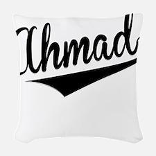 Ahmad, Retro, Woven Throw Pillow