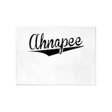 Ahnapee, Retro, 5'x7'Area Rug