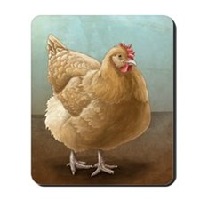 Buff Orpington Hen Mousepad
