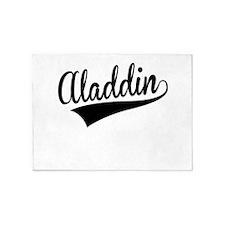 Aladdin, Retro, 5'x7'Area Rug