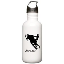 Sled Chick Water Bottle