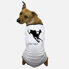 Sled Chick Dog T-Shirt