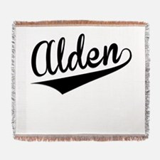 Alden, Retro, Woven Blanket