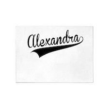Alexandra, Retro, 5'x7'Area Rug