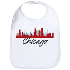 Chicago Illinois Skyline Bib