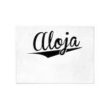 Aloja, Retro, 5'x7'Area Rug