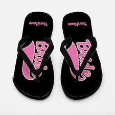 Personalized Bride Sandals Flip Flops