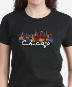 Chicago Illinois Skyline Tee