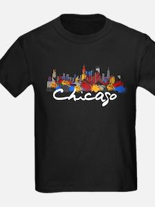 Chicago Illinois Skyline T