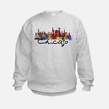Chicago Illinois Skyline Sweatshirt