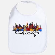 Chicago Illinois Skyline Bib