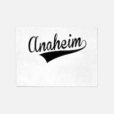 Anaheim, Retro, 5'x7'Area Rug