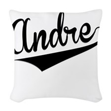 Andre, Retro, Woven Throw Pillow