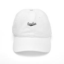 Angelica, Retro, Baseball Baseball Cap