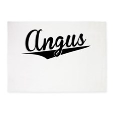 Angus, Retro, 5'x7'Area Rug