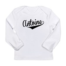 Antoine, Retro, Long Sleeve T-Shirt