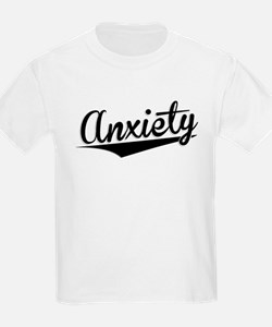 Anxiety, Retro, T-Shirt
