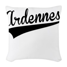 Ardennes, Retro, Woven Throw Pillow