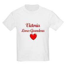 Victoria Loves Grandma T-Shirt