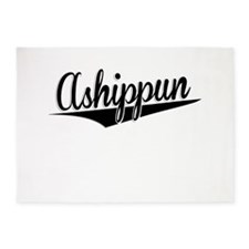 Ashippun, Retro, 5'x7'Area Rug