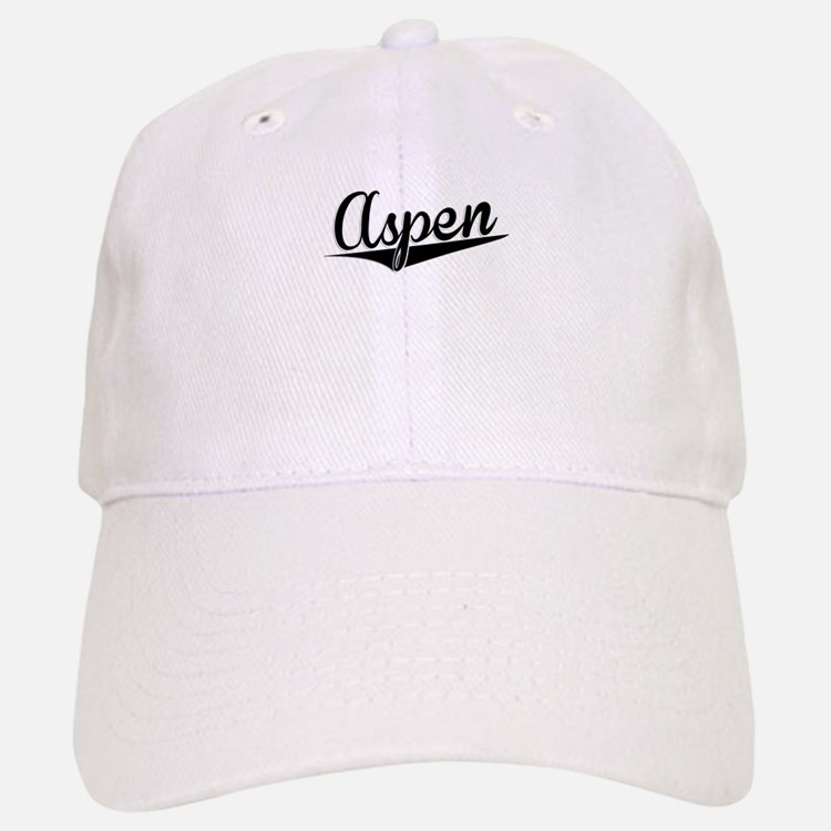 Aspen, Retro, Baseball Baseball Baseball Cap