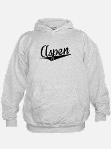 Aspen, Retro, Hoodie
