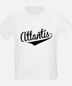 Atlantis, Retro, T-Shirt