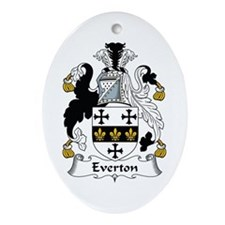 Everton Oval Ornament