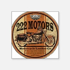 222 Motors Leather Store Sticker