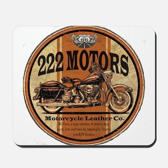 222 Motors Leather Store Mousepad