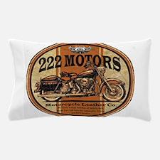 222 Motors Leather Store Pillow Case